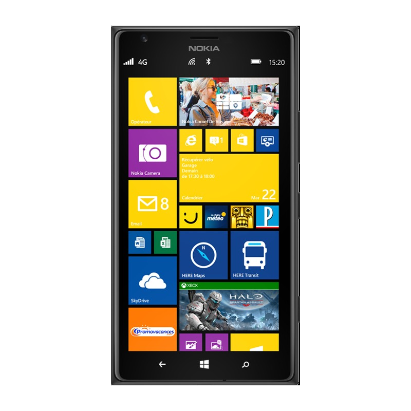 nokia lumia 1520 reconditionn d 39 occasion. Black Bedroom Furniture Sets. Home Design Ideas