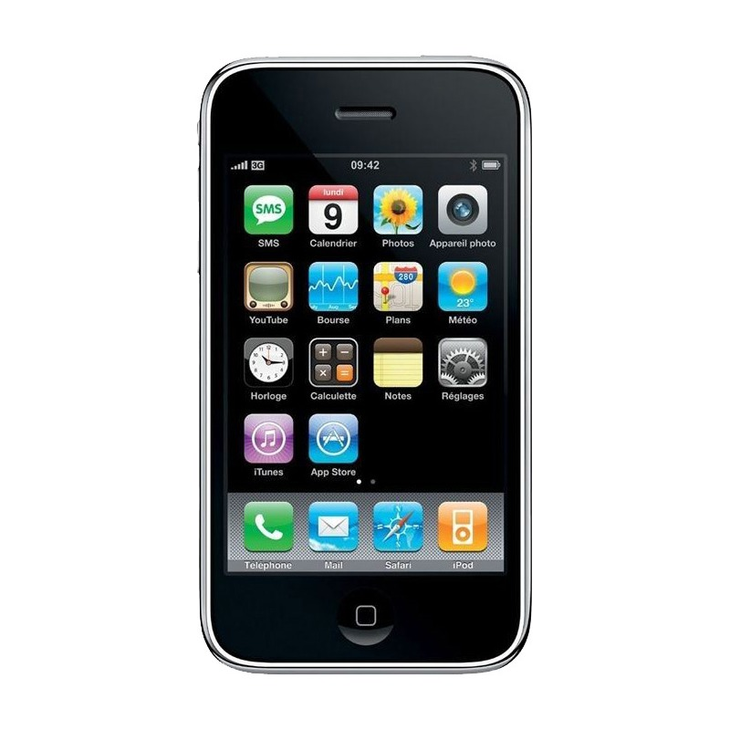 apple iphone 3gs reconditionn d 39 occasion. Black Bedroom Furniture Sets. Home Design Ideas