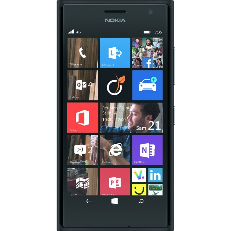nokia lumia 735 reconditionn d 39 occasion. Black Bedroom Furniture Sets. Home Design Ideas